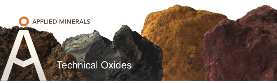 Applied Minerals - Iron Oxide - Amiron Technical Oxides
