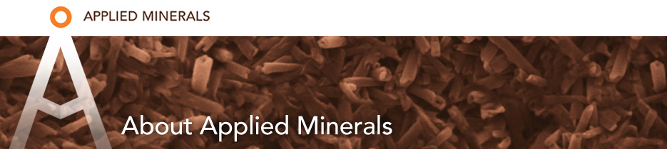 Applied Minerals - About Applied Minerals