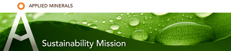 Applied Minerals - Sustainability Mission